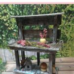 miniature potting bench tutorial