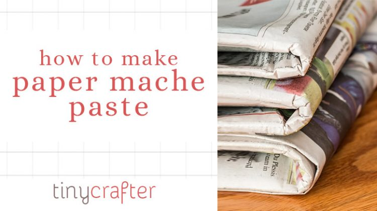 How to Make Paper Mache Paste With Just Glue and Water