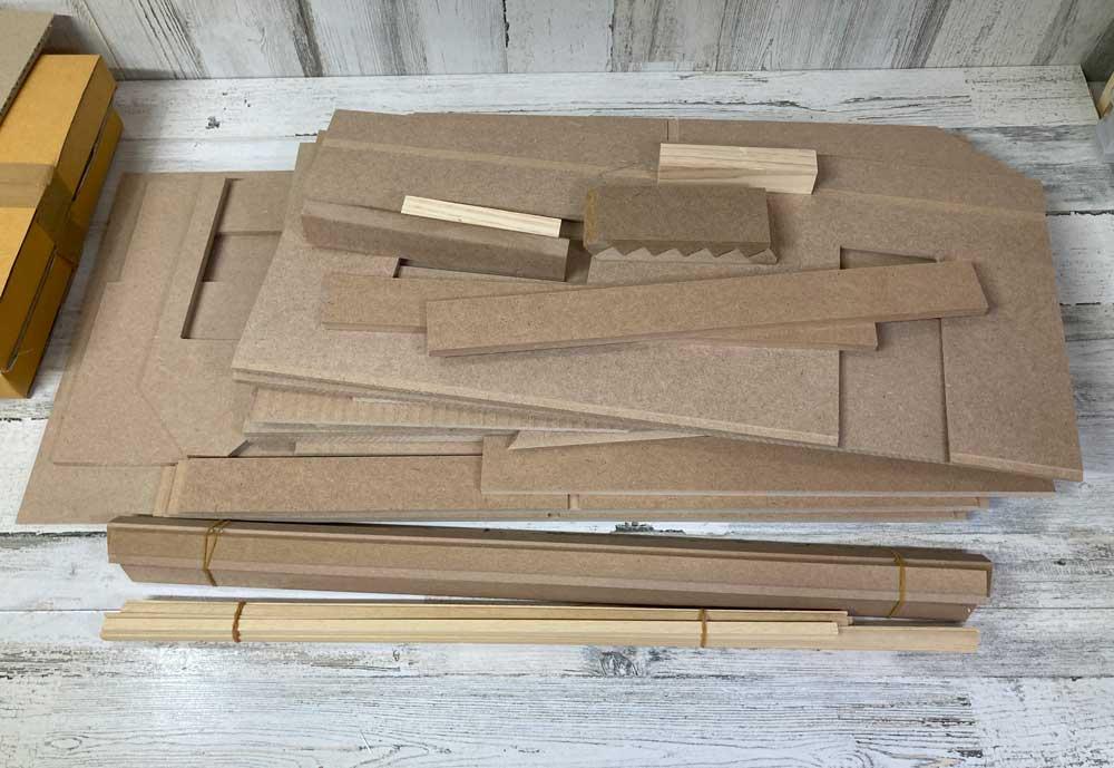 beachside bungalow dollhouse kit review