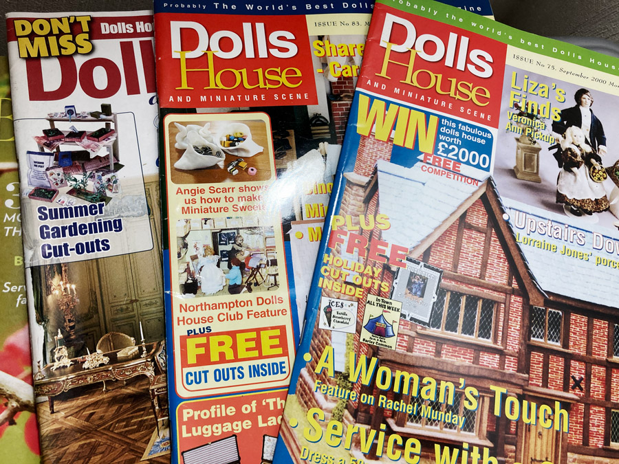 dolls house and miniature scene magazine issues
